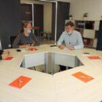 Участники проекта УрГПУ «Педагогическая интернатура» побывали в центре «Учитель будущего»